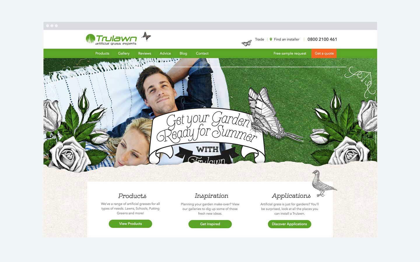 Trulawn - Homepage