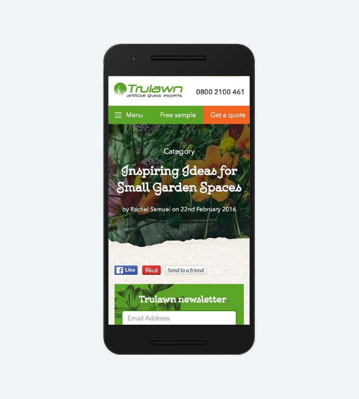 Trulawn - Mobile News