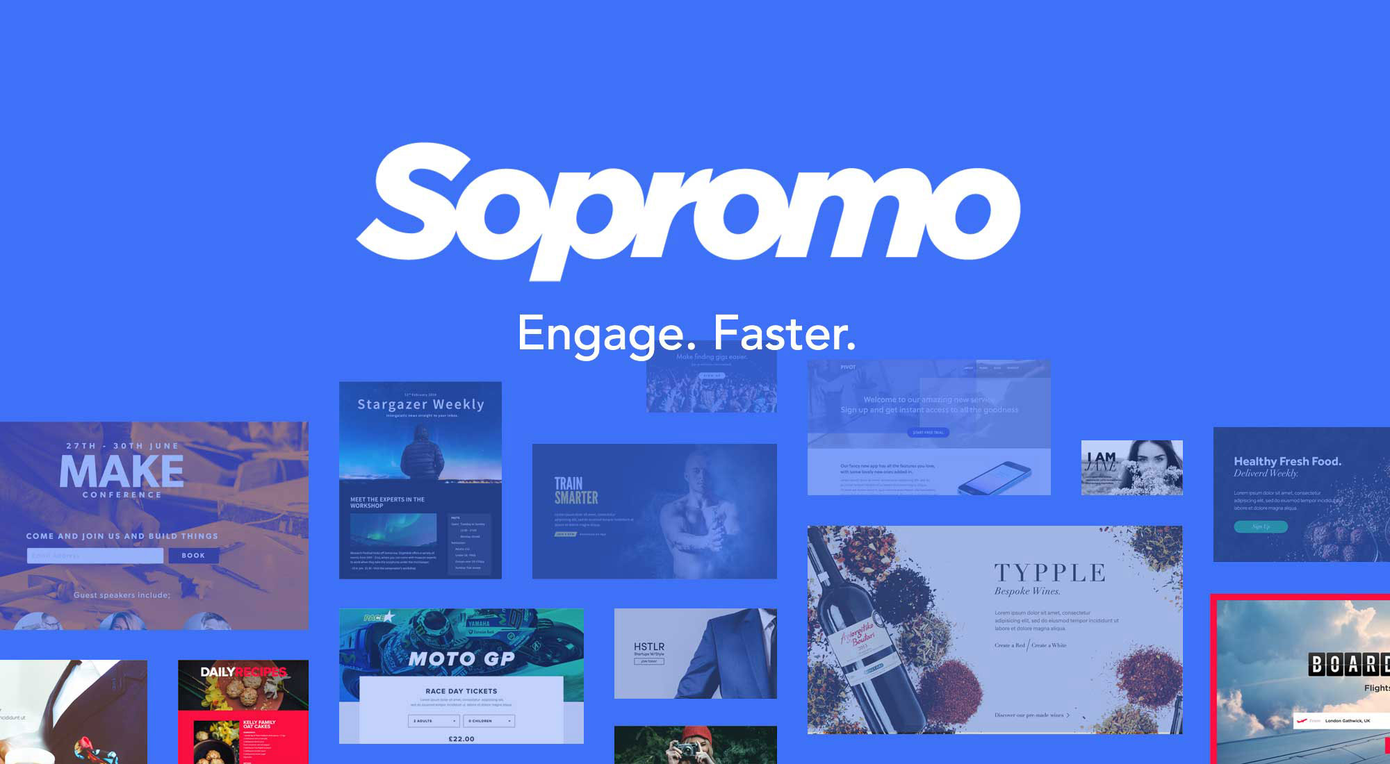 Sopromo - Engage Faster
