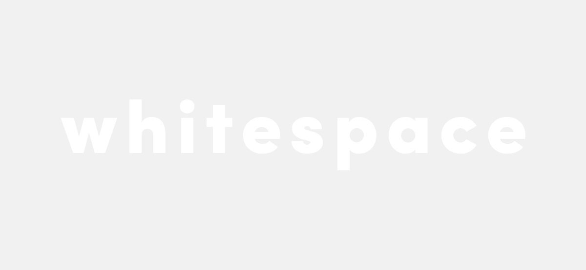 Why whitespace is so important