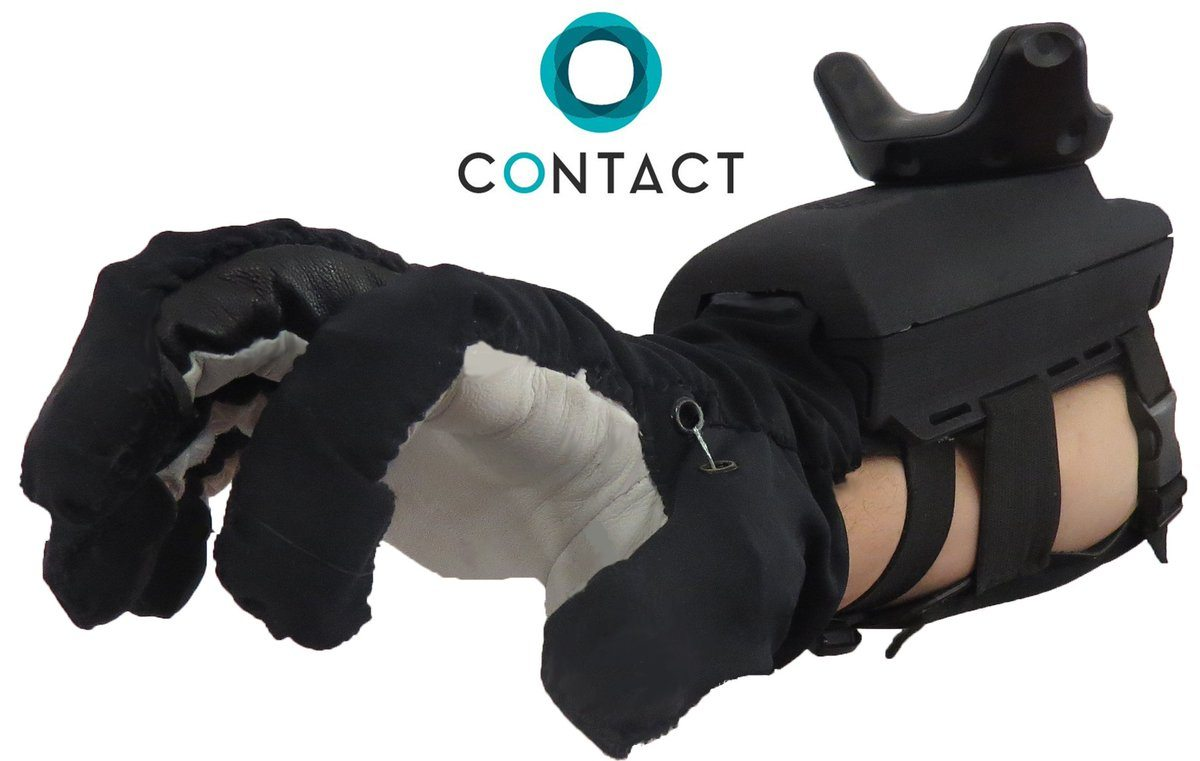 Contact CI Haptic Gloves